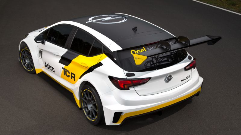 Opel Astra TCR 7, sport cars, Opel, racing, leather, test, Frankfurt 2015 (horizontal)
