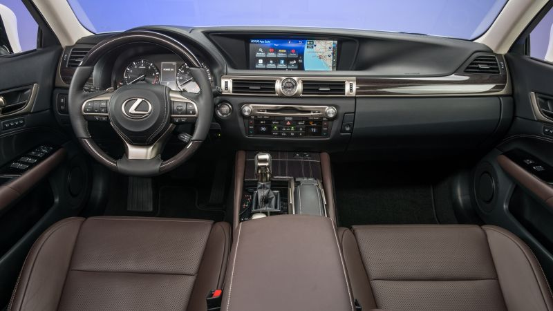 Lexus GS350, interior, Lexus, leather, test (horizontal)