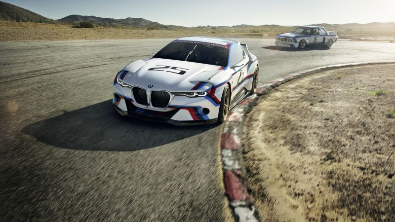 BMW 3.0 CSL, Hommage R, sports car, bmw, xDrive, sDrive (horizontal)