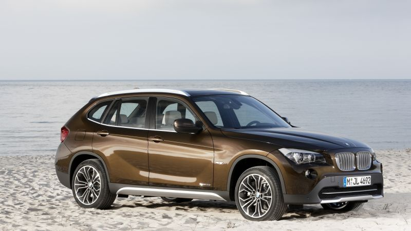 BMW X1, crossover, luxury cars, SUV, xDrive, sDrive, Frankfurt 2015 (horizontal)