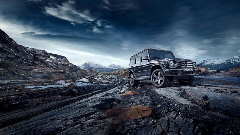 Mercedes-Benz G 500, SUV, Mercedes, G-Class, off-road, luxury cars (horizontal)
