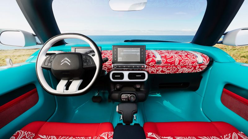 Citroen Cactus M, hybrid, Citroen, interior, crossover, 2015 car, concept, supercar, luxury cars, cars of 2016 (horizontal)