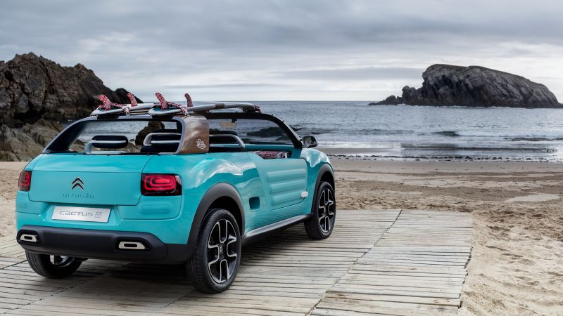 Citroen Cactus M, hybrid, Citroen, city car, crossover, 2015 car, concept, supercar, luxury cars, cars of 2016 (horizontal)