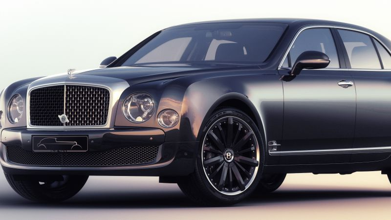 Bentley Mulsanne, luxury cars, Bentley, Flying B, metallic, leather, test, Frankfurt 2015 (horizontal)