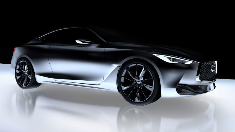 Infiniti Q60, concept, Infiniti, sports car, Frankfurt 2015, luxury cars 2016 (horizontal)