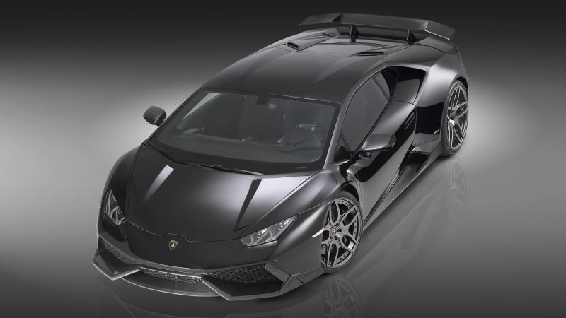 Lamborghini Huracan LP610-4, supercar, black, luxury cars, sports car, test drive (horizontal)