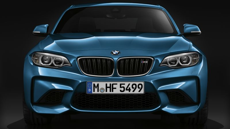 BMW M2, blue, SUV, xDrive, sDrive (horizontal)