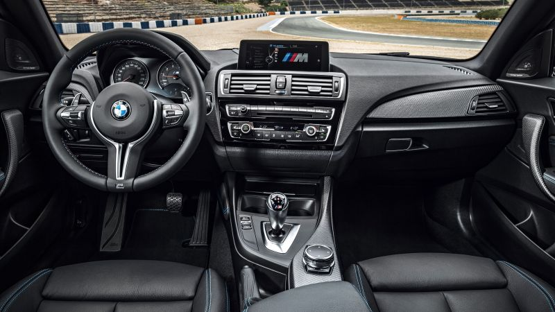 BMW M2, interior, SUV, xDrive, sDrive, best cars of 2015 (horizontal)
