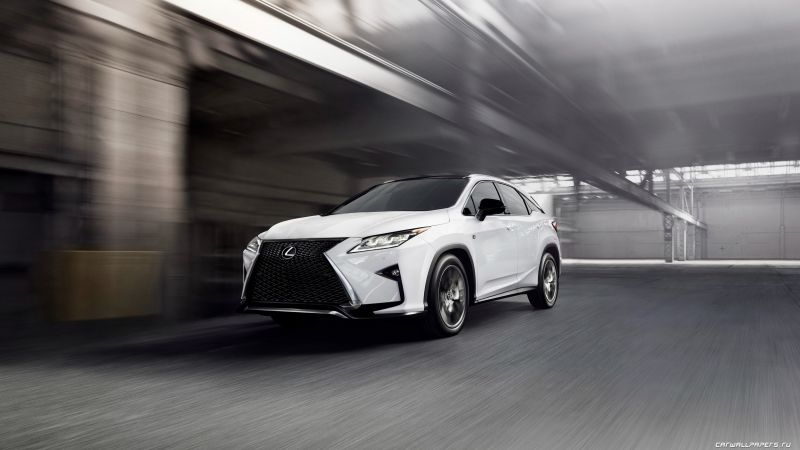Lexus RX 350, supercar, white, luxury cars, test drive (horizontal)