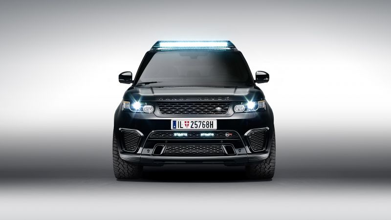 Range Rover Sport SVR, 007 Spectre movie (horizontal)