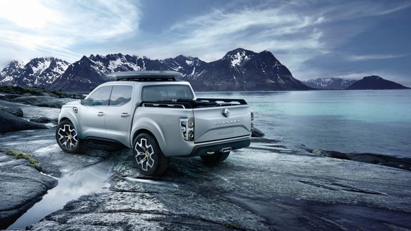 Renault Alaskan, concept, pick-up (horizontal)