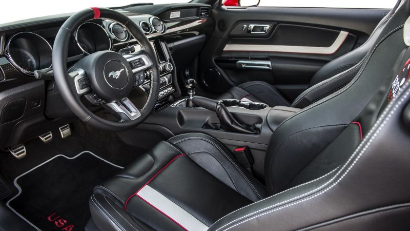 Ford Mustang Apollo Edition, mustang, interior, sport cars (horizontal)