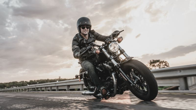 Wallpaper Harley Davidson Iron 883, Black, Bike Year 2016