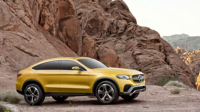 Mercedes-Benz GLC, concept, gold (horizontal)