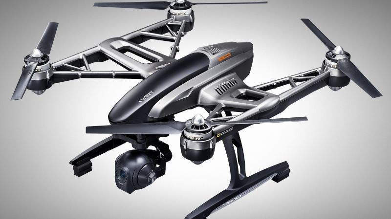 Yuneec Typhoon H, CES 2016, quadcopter, unboxing, test (horizontal)