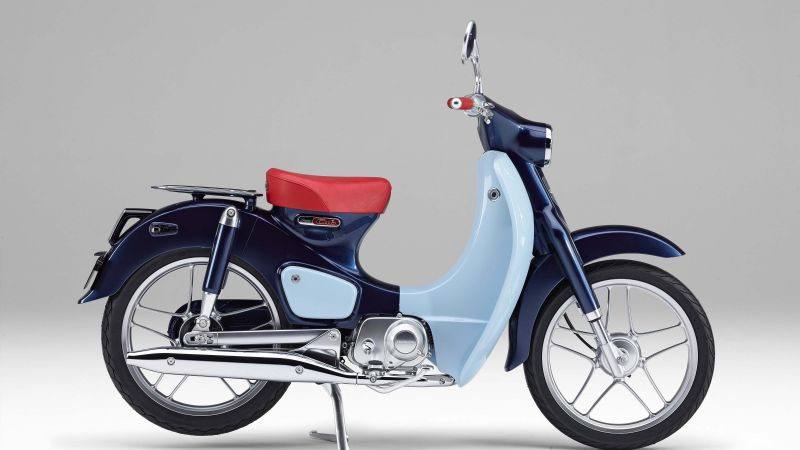 Honda EV Cub, electric, concept (horizontal)