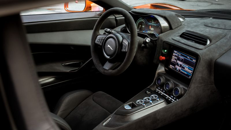 Jaguar C-X75, 007 Spectre, james bond, interior, spectre (horizontal)