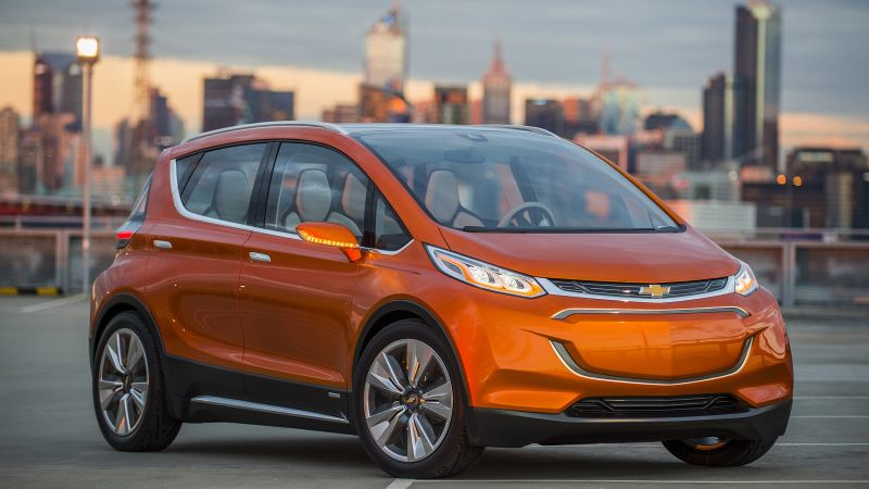 Chevrolet Bolt EV, Chevy, electrocar, electric cars, LG-mobile, concept (horizontal)
