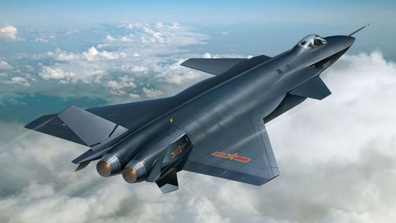 Shenyang J-20, China army, fighter aircraft, air force, China (horizontal)