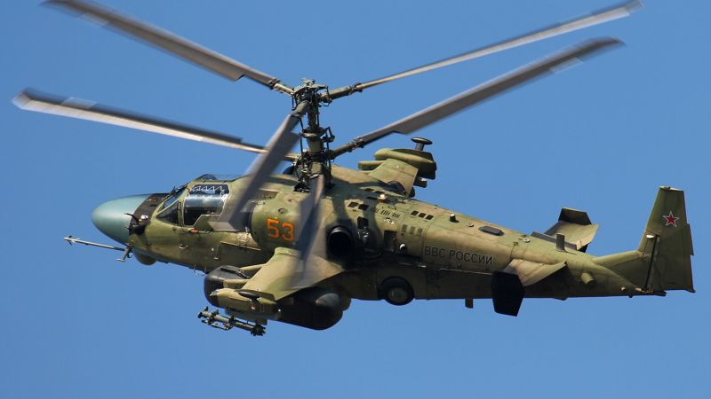 Kamov Ka-52 Alligator, Russian army, fighter helicopter, air force (horizontal)