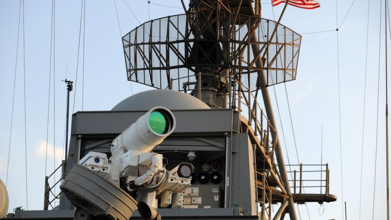 Laser Weapon System, LAWs, USA Army, United States Navy (horizontal)