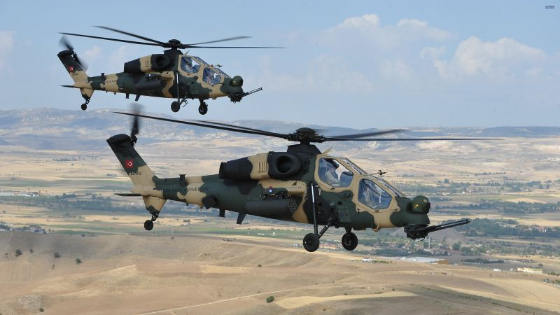 Agusta Westland T-129, AgustaWestland, attack helicopter, Turkish Aerospace Industries (horizontal)