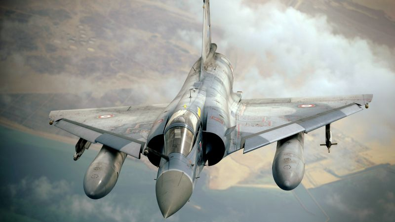 Mirage 2000, attack, Aircraft, France Air Force, France army (horizontal)