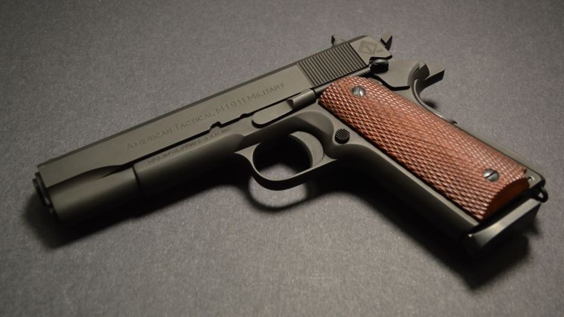 ATI FX MILITARY 1911, gun (horizontal)