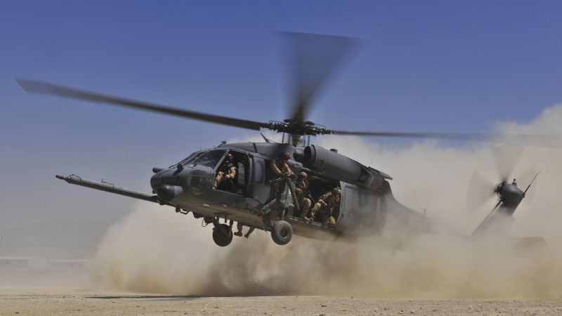 Sikorsky UH-60 Black Hawk, helicopter, U.S. Air Force,  (horizontal)