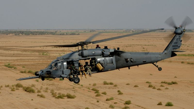 Sikorsky UH-60 Black Hawk, helicopter, U.S. Air Force (horizontal)