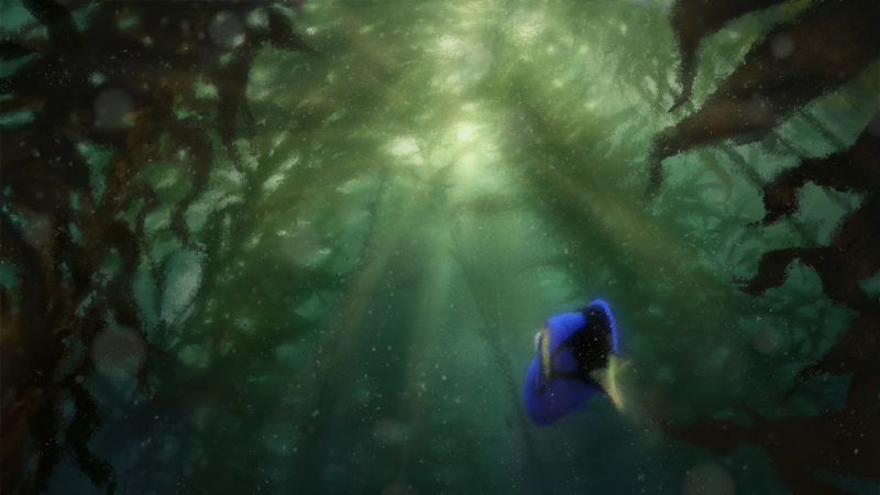 Finding Dory, nemo, fish, Pixar, animation (horizontal)