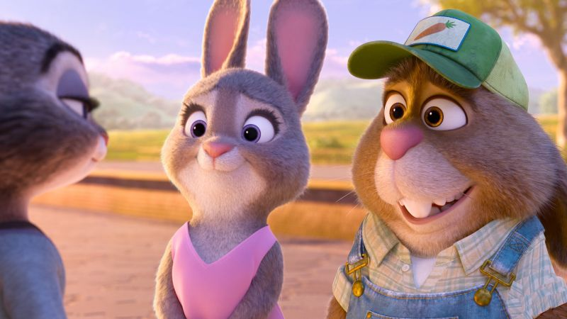 Zootopia, rabbit, Best Animation Movies of 2016, cartoon (horizontal)