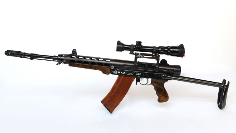 VAHAN, assault rifle, 5, 45 mm (horizontal)
