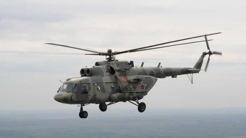 MI-8, Russian army, fighter helicopter, air force, Russia (horizontal)