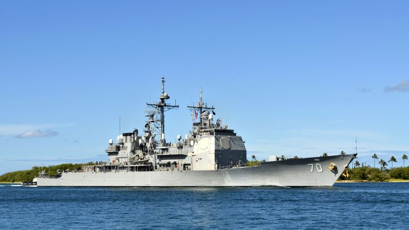 USS Lake Erie, CG-70, cruiser, USA Navy (horizontal)