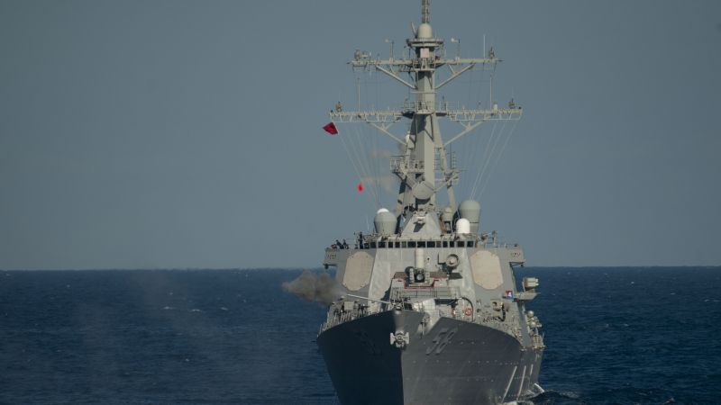 USS Laboon, DDG-58, Arleigh Burke-class, destroyer, USA Navy (horizontal)