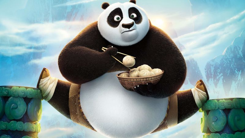 Kung Fu Panda 3, Best Animation Movies, cartoon (horizontal)