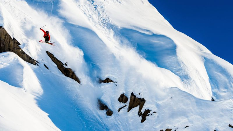 Markus Eder, 5k, 4k wallpaper, skiing, Days of my youth, mountains, snow, winter (horizontal)