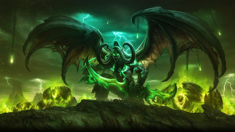 World of Warcraft: Legion, MMORPG, Best Game, fantasy, PC (horizontal)