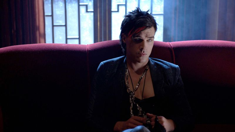 American Horror Story Hotel, Best TV series, season 5, Finn Wittrock (horizontal)