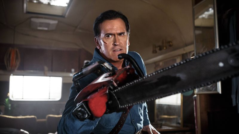 Ash vs Evil Dead, Best TV series, Bruce Campbell (horizontal)