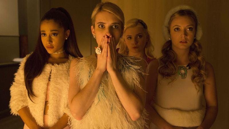 Scream Queens, Best TV series, Emma Roberts (horizontal)