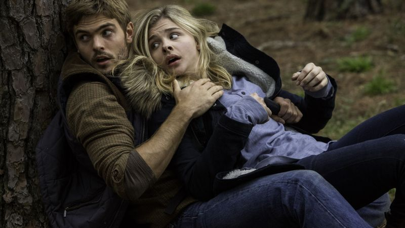 The 5th wave, Best movies, Alex Roe, Chloe Moretz (horizontal)