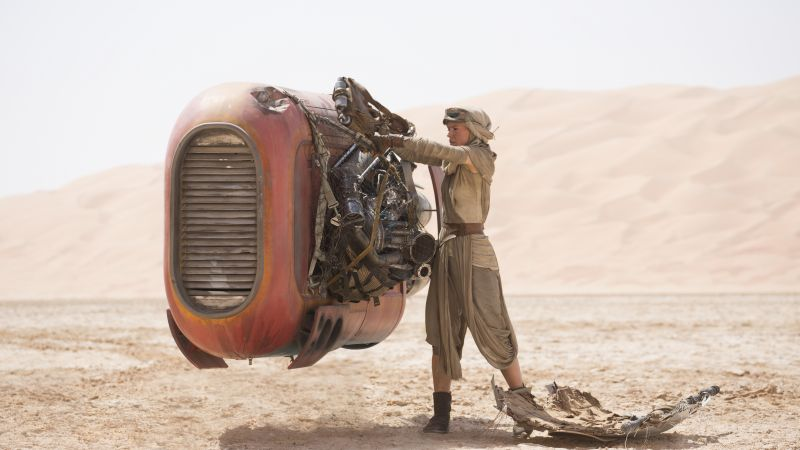 Star Wars: Episode VII - The Force Awakens, Daisy Ridley (horizontal)