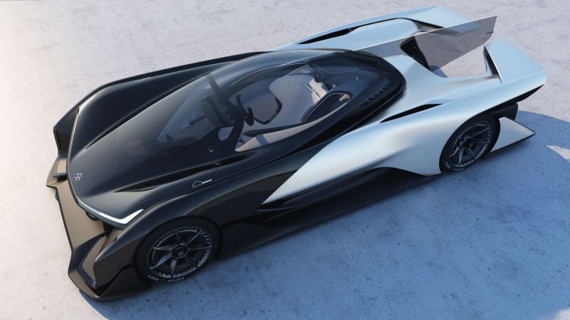 FFZERO1, Faraday Future, Electric Car, Best Electric Cars (horizontal)