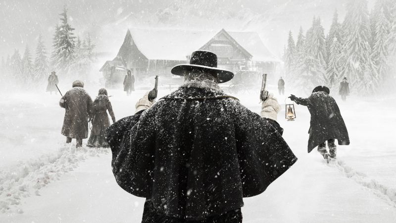 The Hateful Eight, Samuel L. Jackson, Best Movies, western (horizontal)