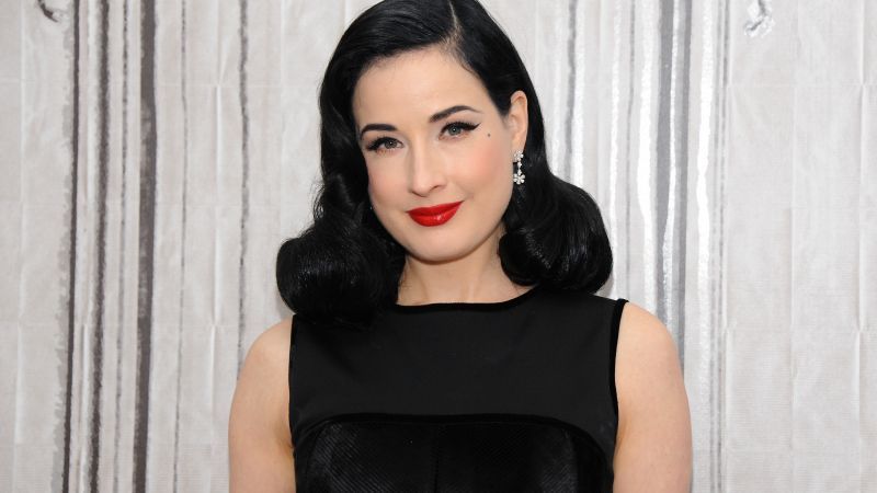 Dita Von Teese, Most Popular Celebs, dancer, actress, model (horizontal)