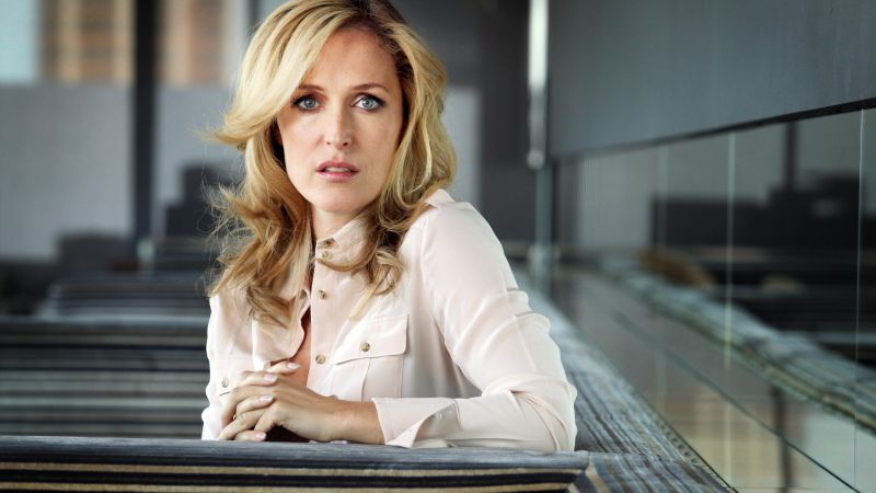 Gillian Anderson, Most Popular Celebs, actress, model (horizontal)