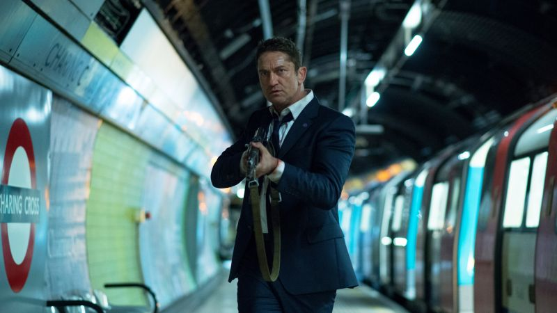 London Has Fallen, Gerard Butler, Best movies, movie, crime (horizontal)