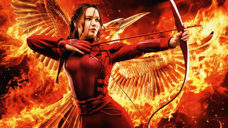 The Hunger Games, Mockingjay - Part 2, Jennifer Lawrence, Best movies, movie (horizontal)